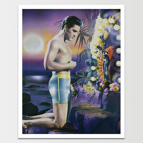 Vintage Elvis Praying Print *REMASTERED*
