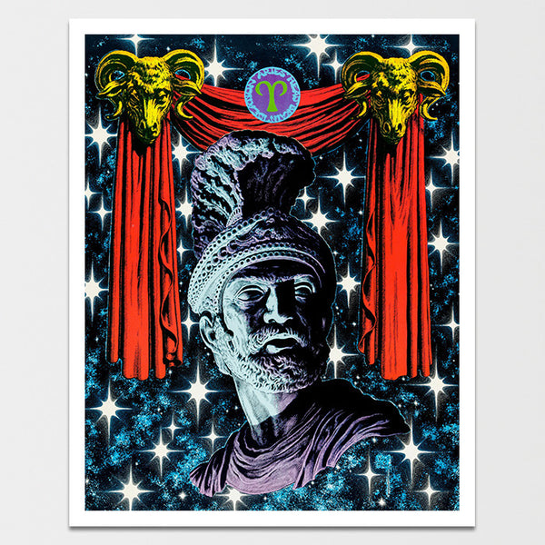 Greek Space God Virgil Finley Poster Print *REMASTERED*