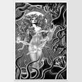 Devil Woman' Virgil Finlay Art Print *REMASTERED*