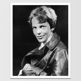 "Historic Amelia Earhart Print 12X18"" *REMASTERED*"