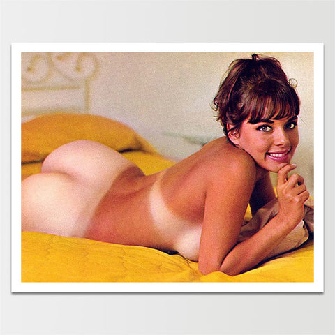 Vintage 1960's Pinup Nude Booty Model Print *REMASTERED*