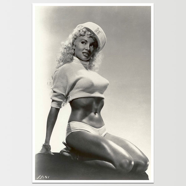 Lili St. Cyr Print Pin Up Model *REMASTERED*