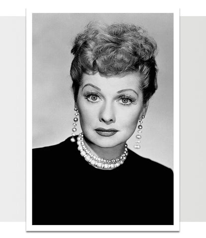 Lucille Ball I Love Lucy Print *REMASTERED*