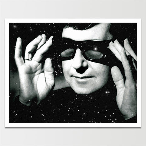 Roy Orbison in Space Print *REMASTERED*