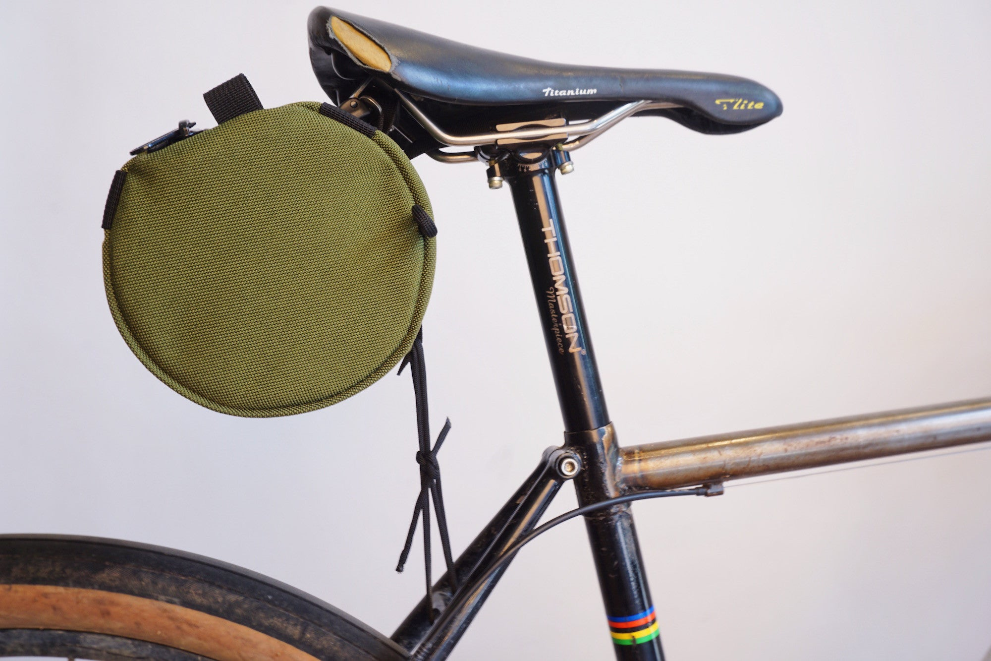 How To Install: Velo Orange Saddle Loops and a Burrito Supreme