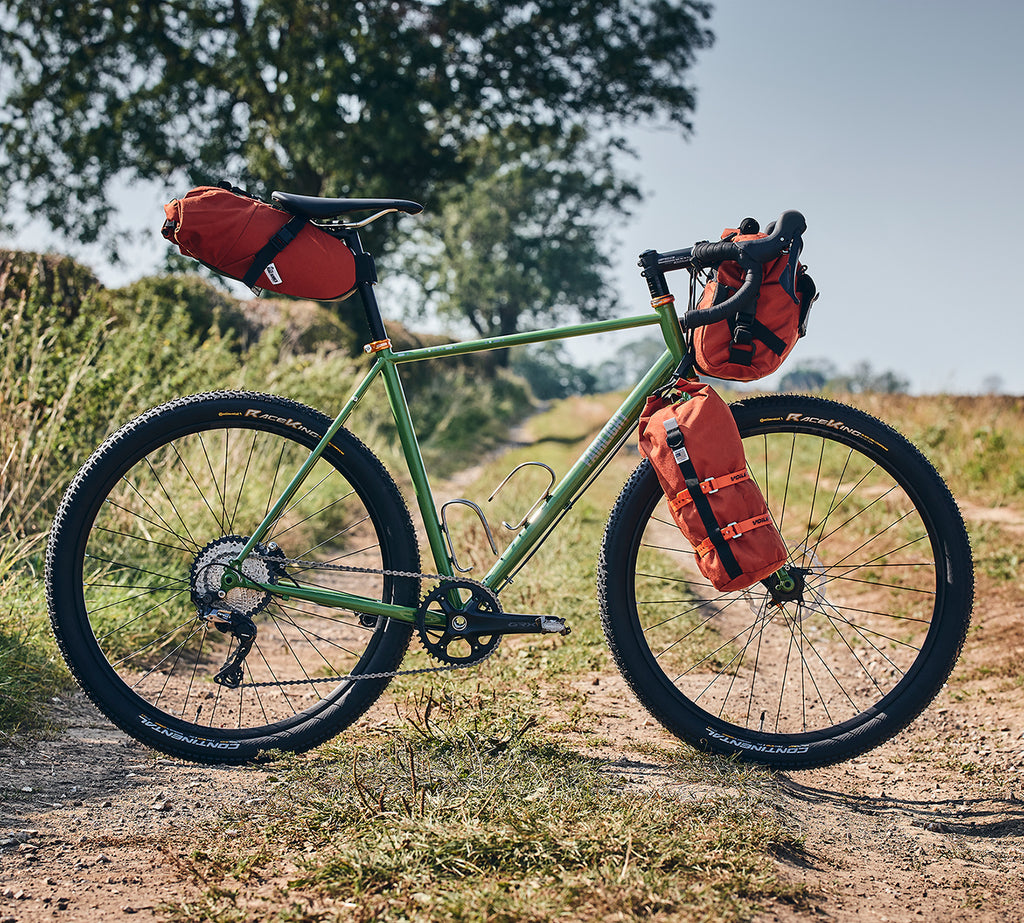 Fairlight 2020 LS1 Gravel Grinder xbike featuring Road Runner Bags on Bikepacking Dot Com