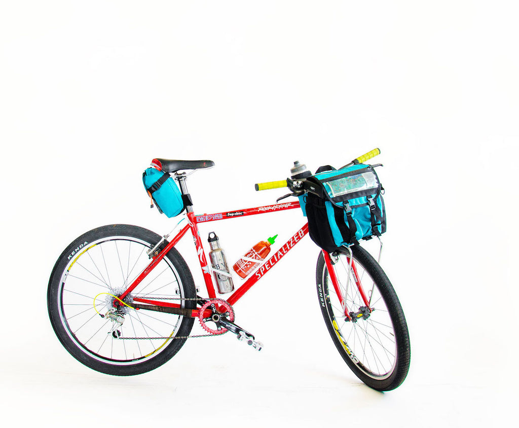 Front Runner Rack or Basket Bag. Perfect for the Nitto Rack or Wald Basket #inthewald