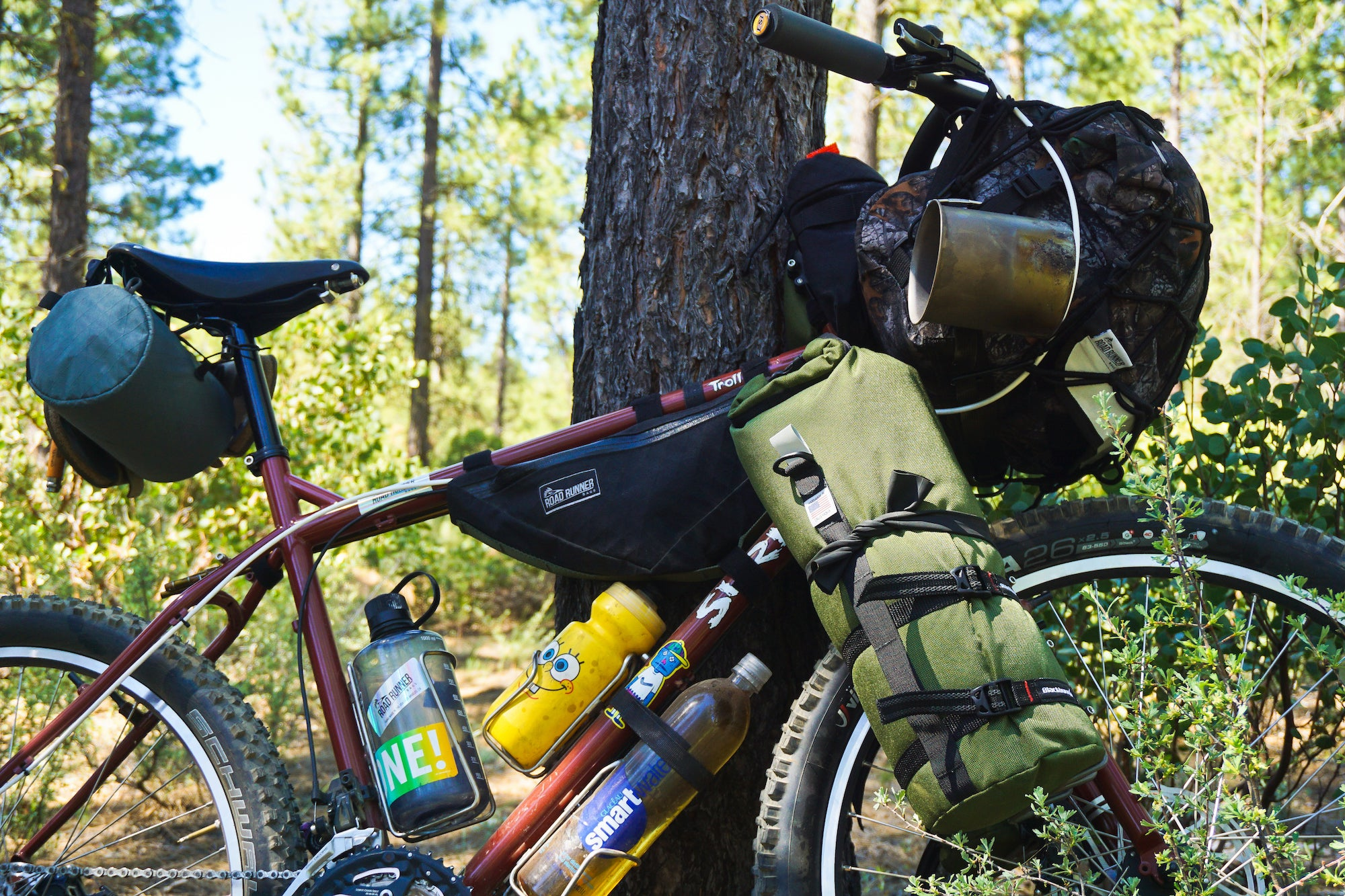 Road Runner Bags Buoy Bag for camping, backpacking and bikepacking
