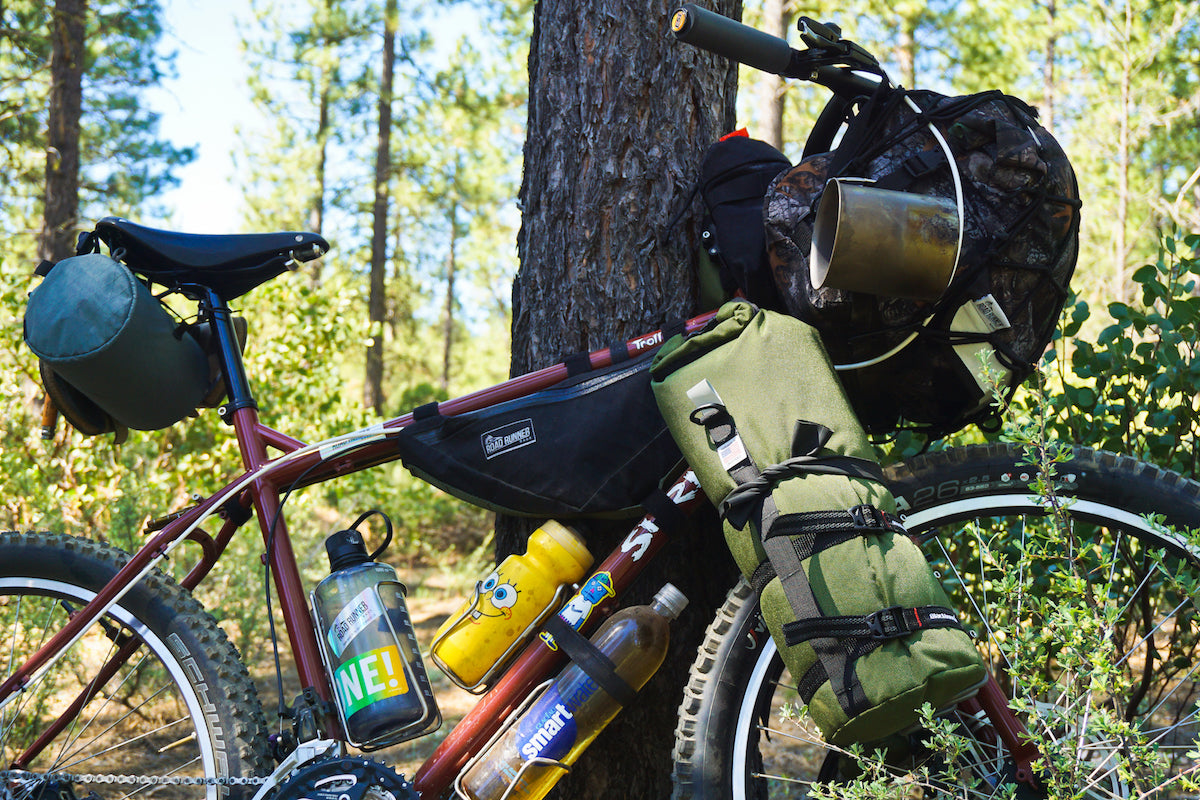 Buoy Bag Anything Cage Bag for bikepacking and cycle touring
