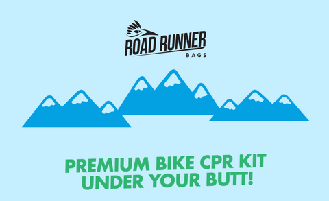 Drafter Saddle Bag - CPR Bike Kit Under Your Butt