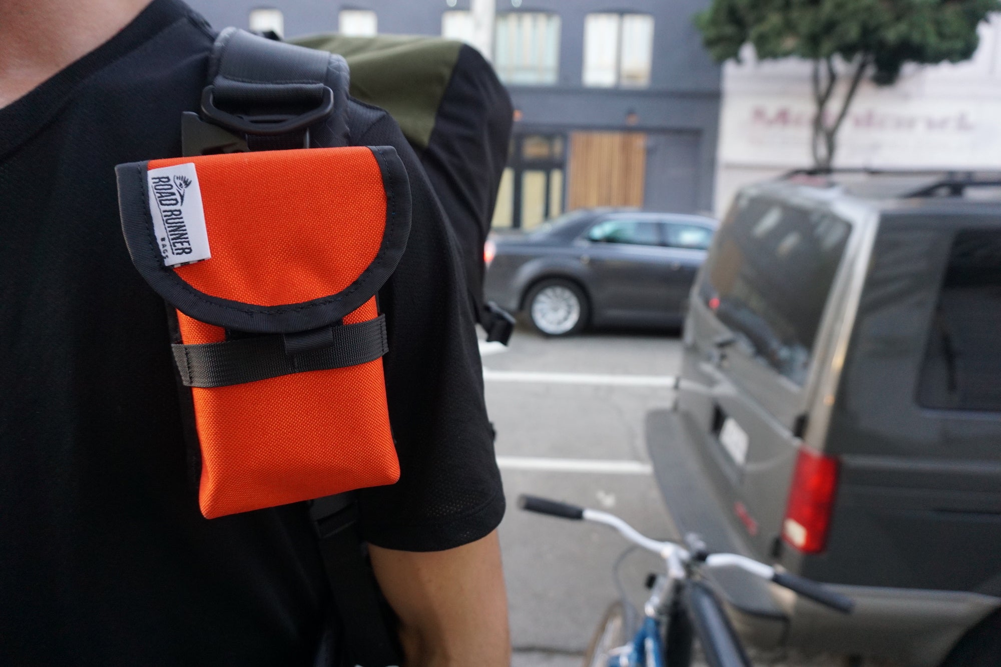 Cell Phone Pouch - Bicycle Bag by Road Runner Bags