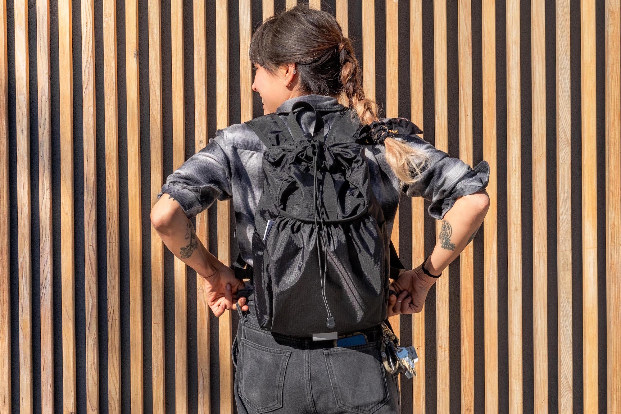 Comrad Packable Backpack for Bikepacking