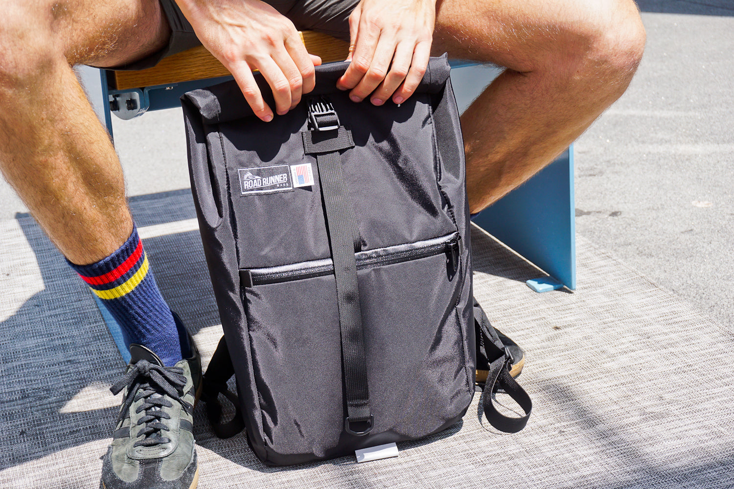 Evil Mini Packable backpack by road runner bags
