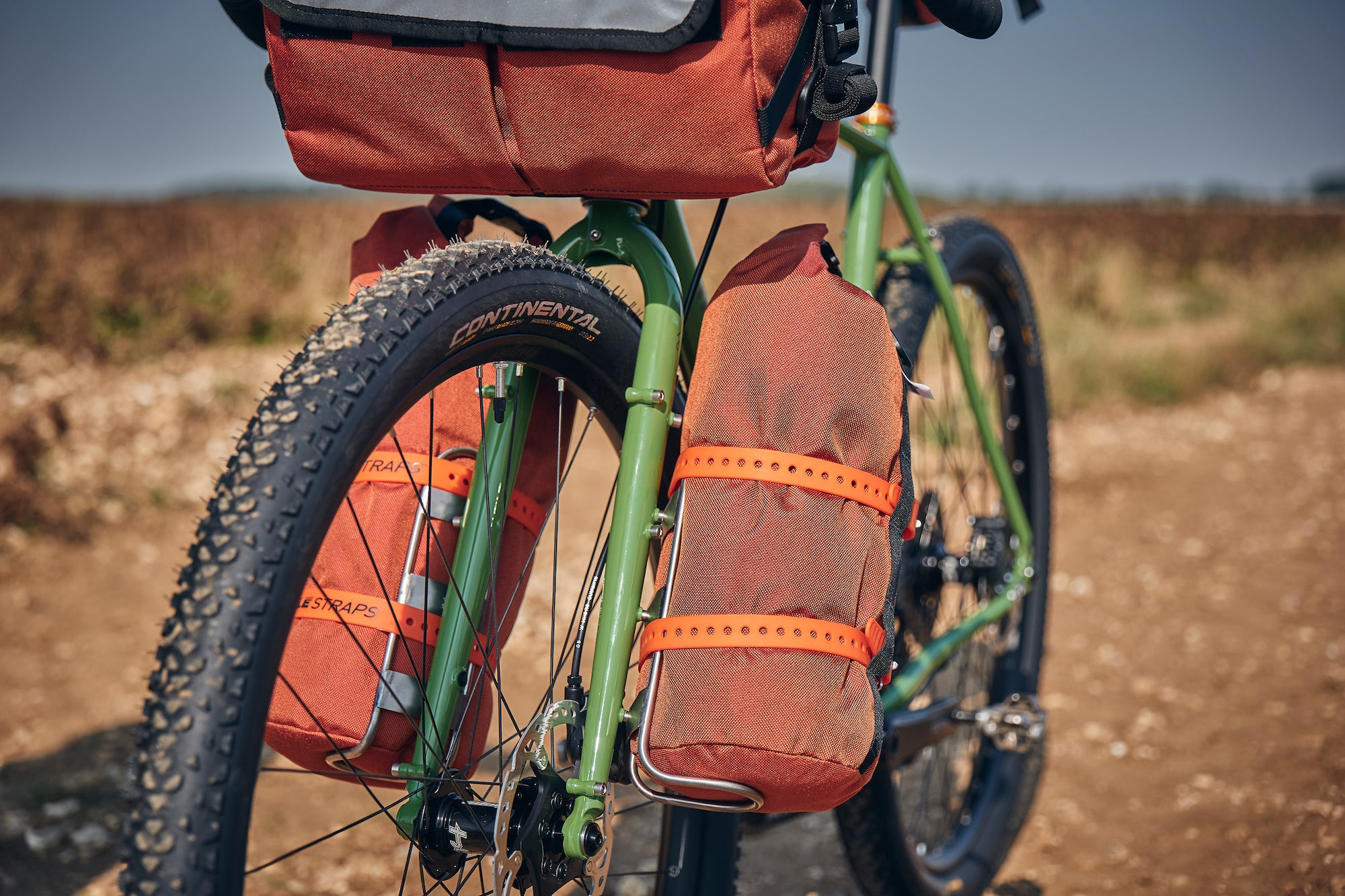 Road Runner Bikepacking Bags on a Fairlight 2020 LS1