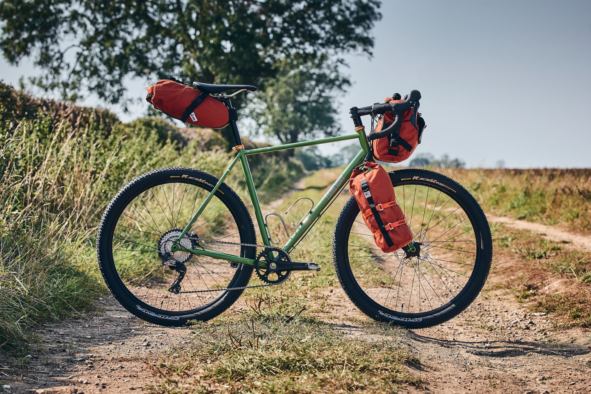 Fairlight LS1 Gravel Bike with Road Runner Bikepacking Bags
