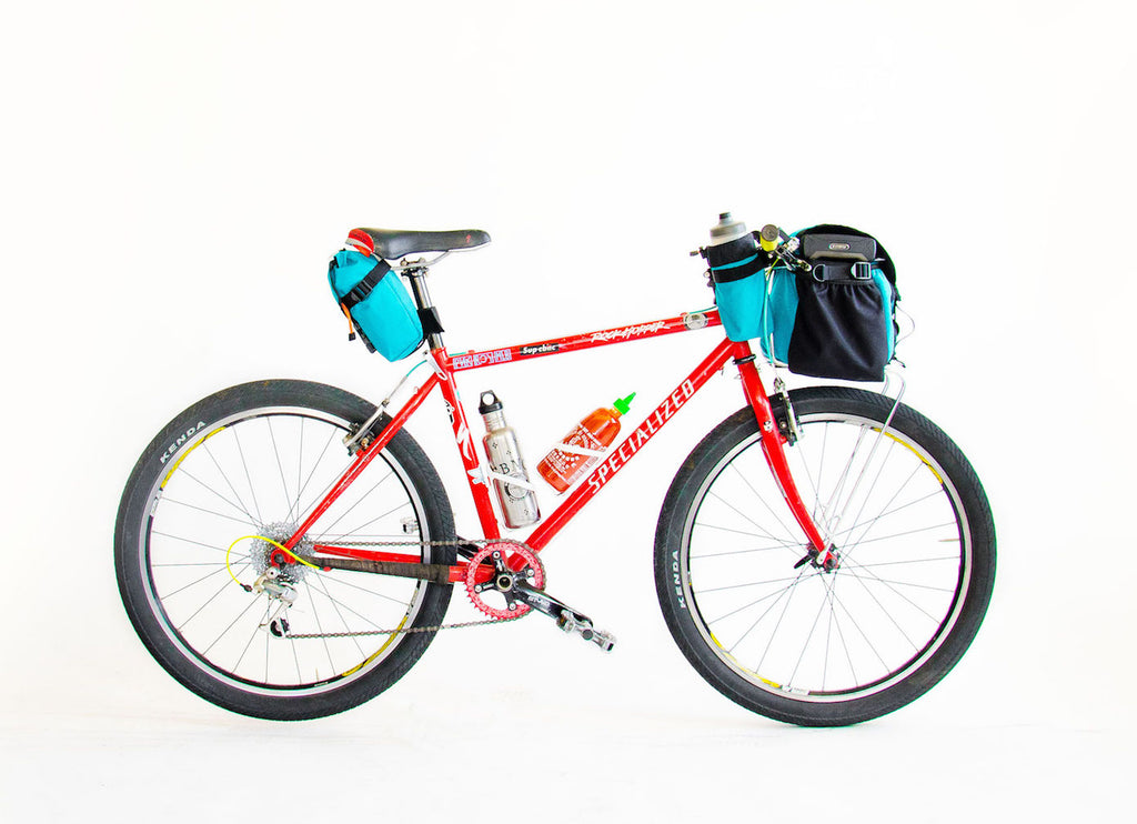 Road Runner Bags Front Runner Rack Bag made for commuting, bike touring, bike packing, gravel riding and adventure