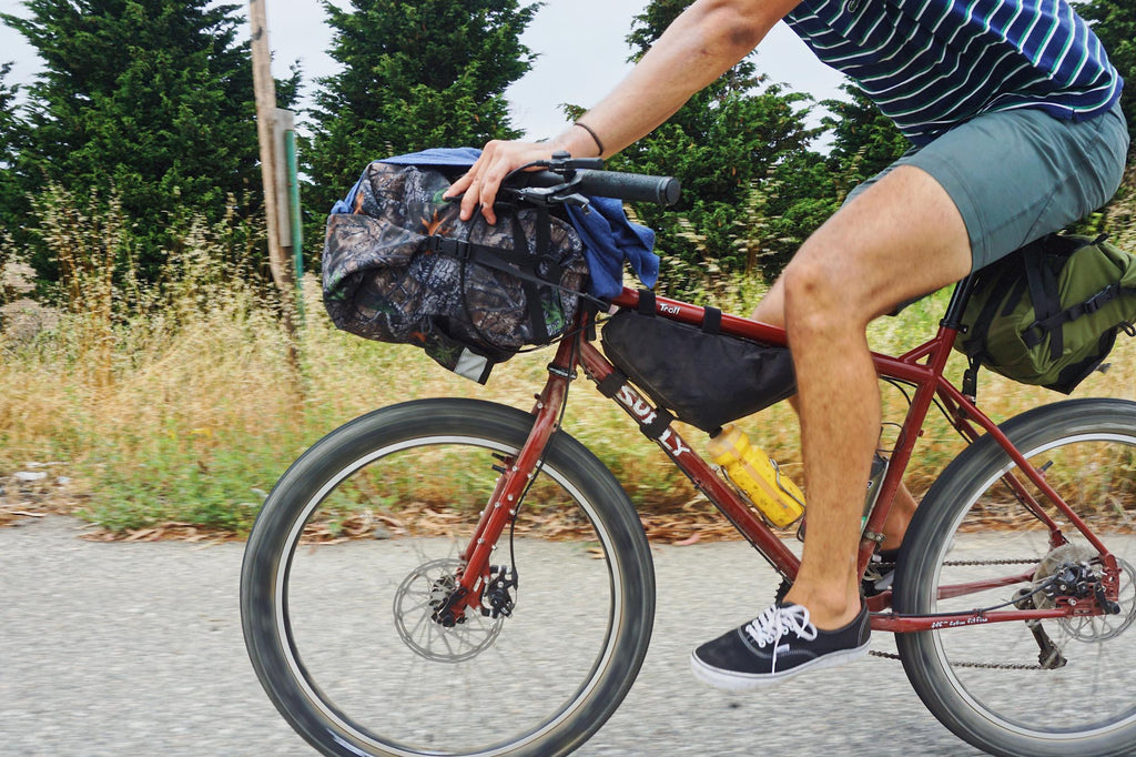 kyle ponce riding surly troll road runner bags