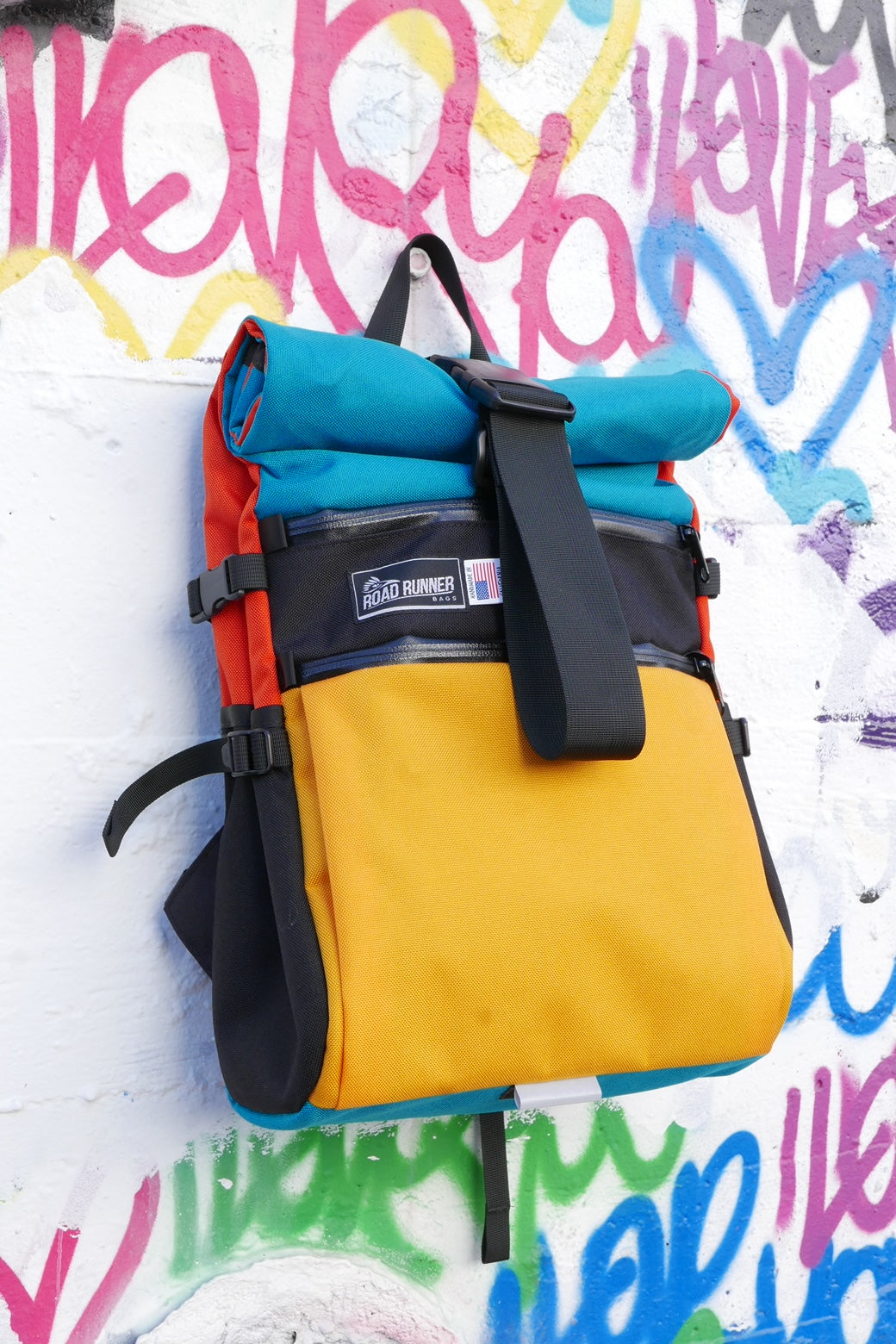 Road Runner Harlequin Bags