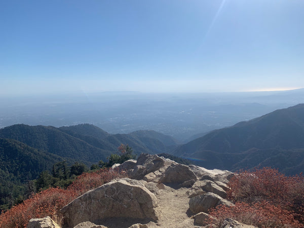 Views from the top of Mt. Wilson