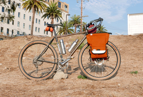 Road Runner Bike Bags - Bike Touring with the Jammer Bag