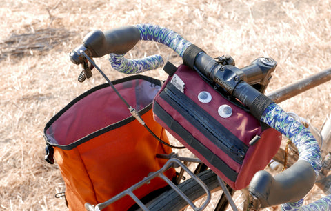 Road Runner Bike Bags - The Burrito Supreme Handle Bar Bag