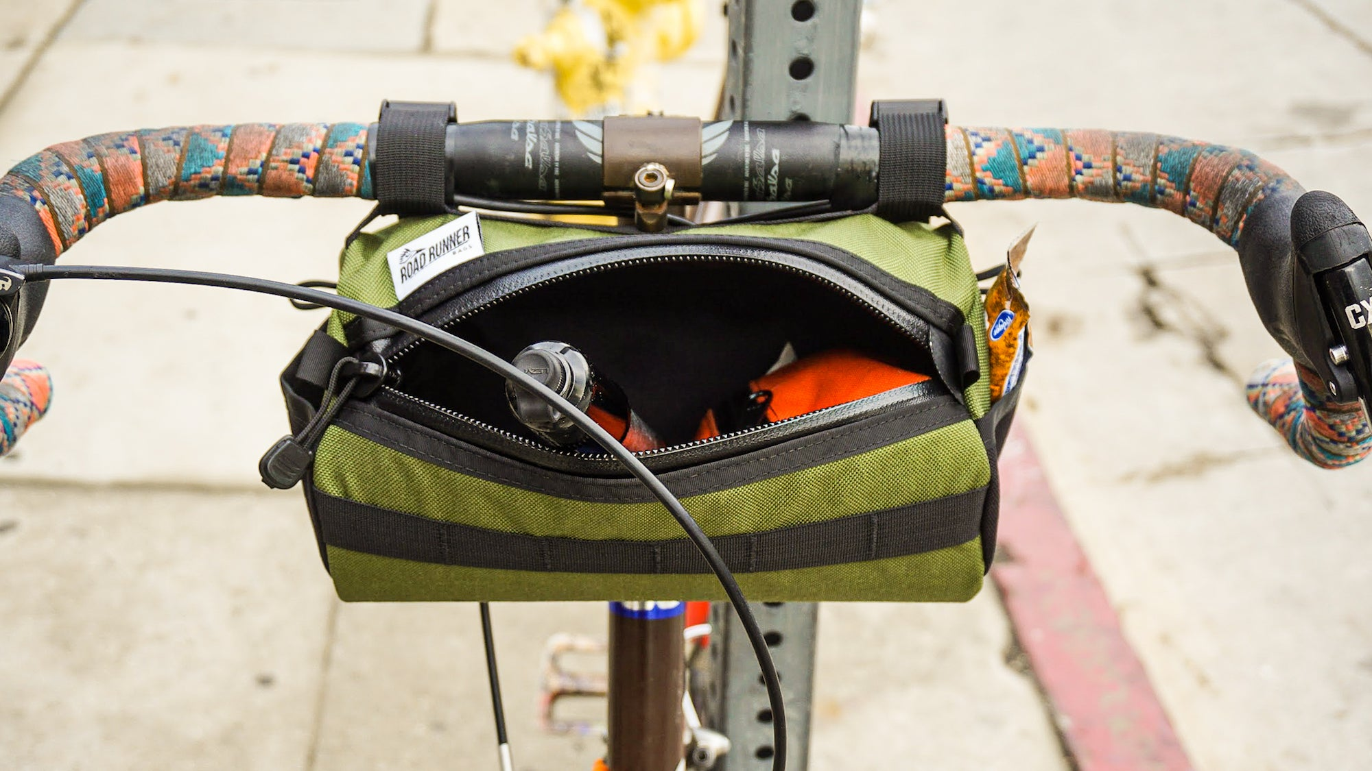 Road Runner Bags California Burrito Handlebar Bag