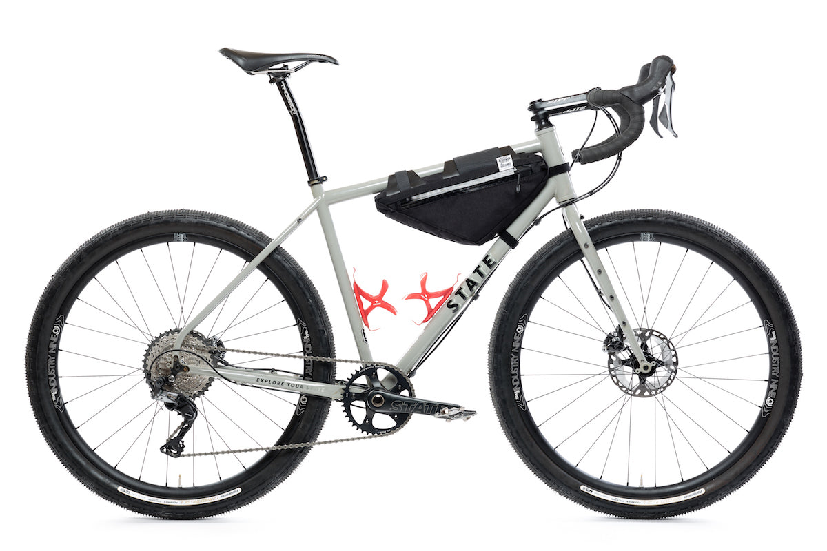 Wedge 1/2 Frame Bag for State Bicycle Co. Gravel and Mountain Bike