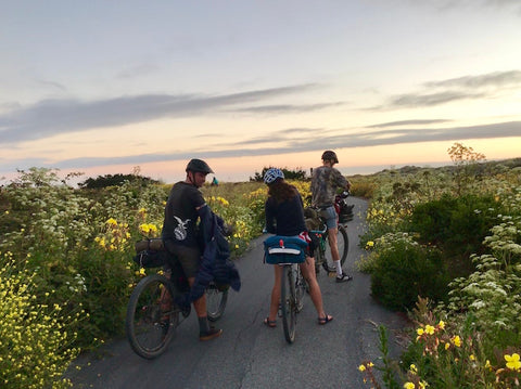 Bike Touring the California Coast with Road Runner Bags Bike Packing Bags and Gravel Bags for an off-road adventure on our all terrain bikes