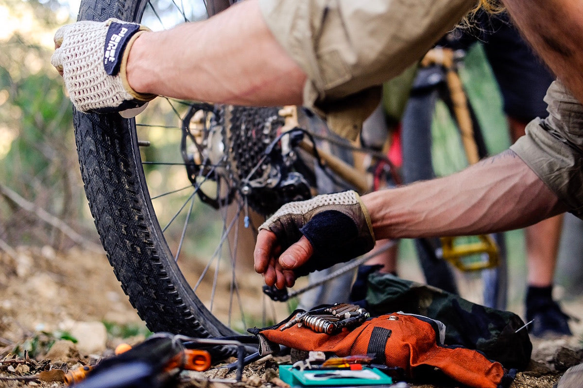 Tool Saddle Roll for Graveling Riding and Bikepacking