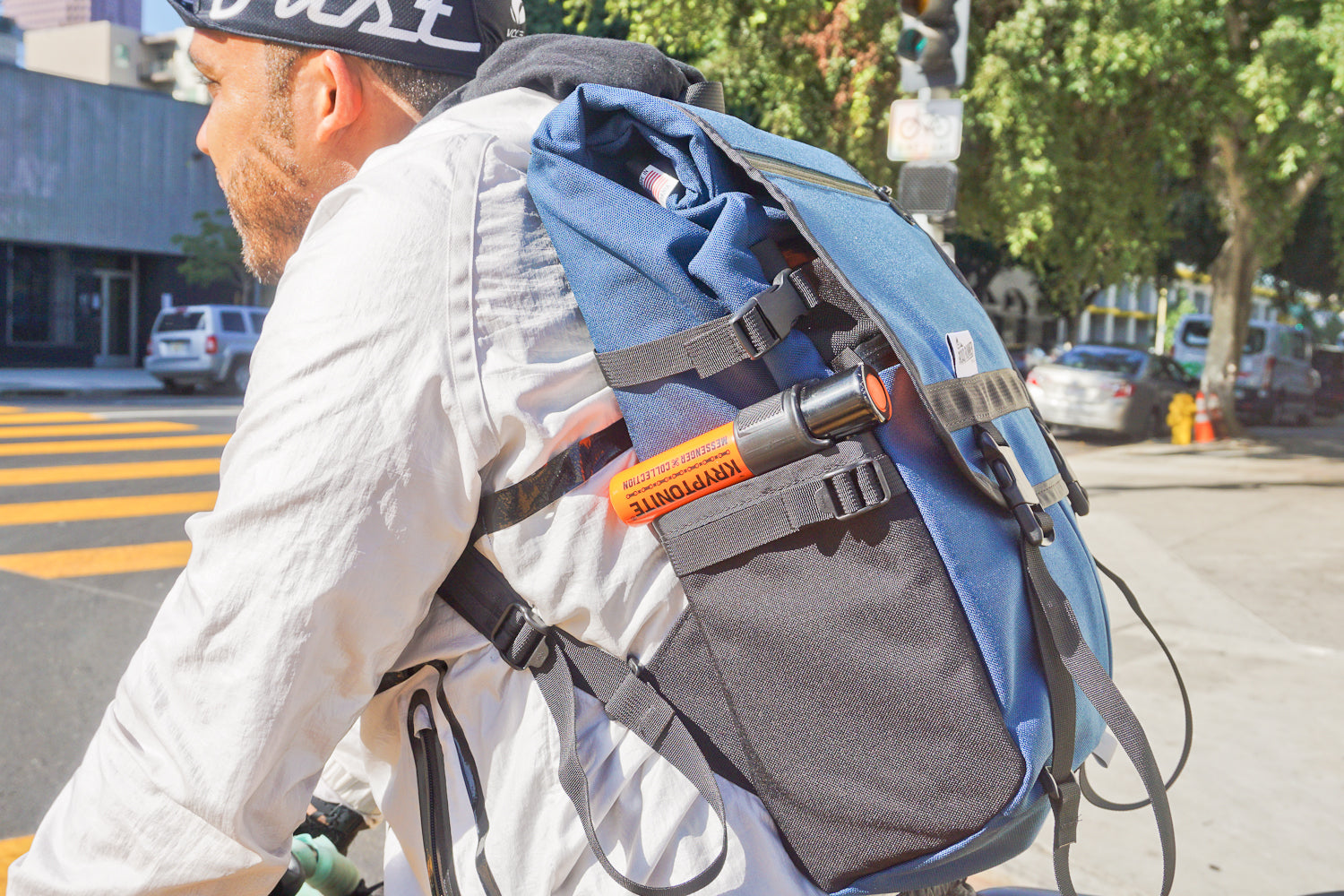 Medium Anything Pack in Navy Cordura by Road Runner Bags