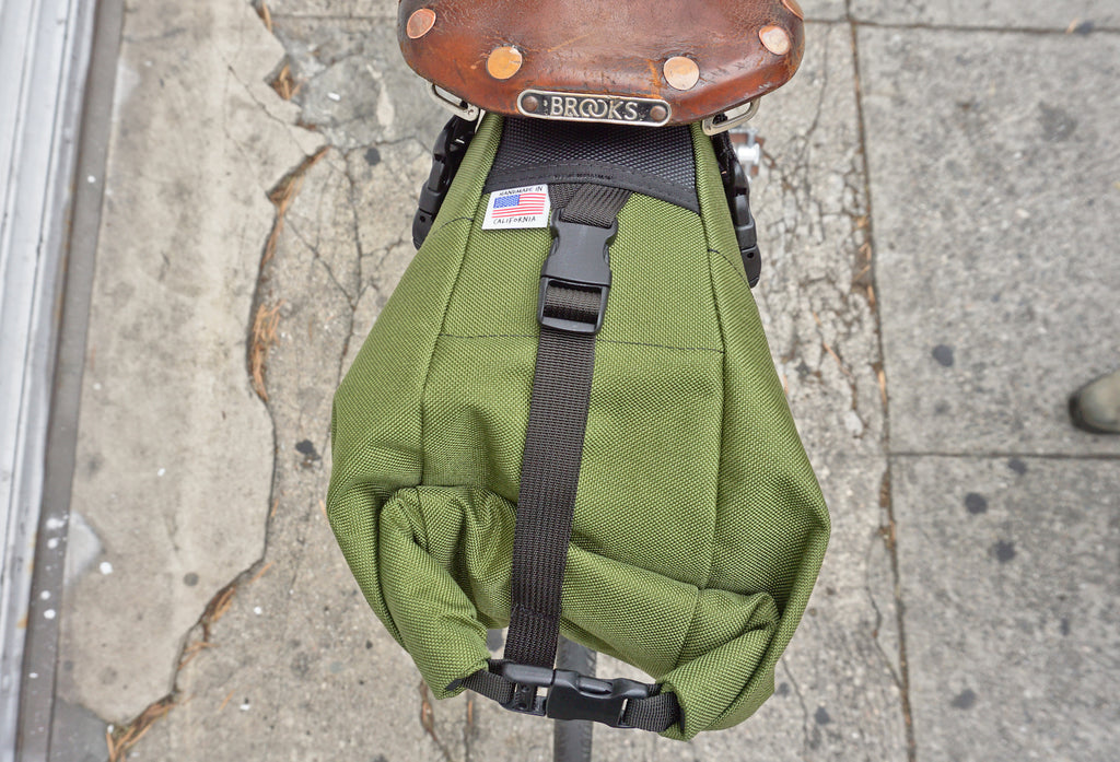 Road Runner Bags XL Fred Saddle Bag for Bike Packing, Bike Touring and Bike Camping
