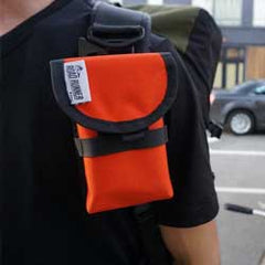 cycling cell phone pouch