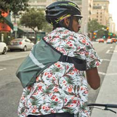 musette cycling bag