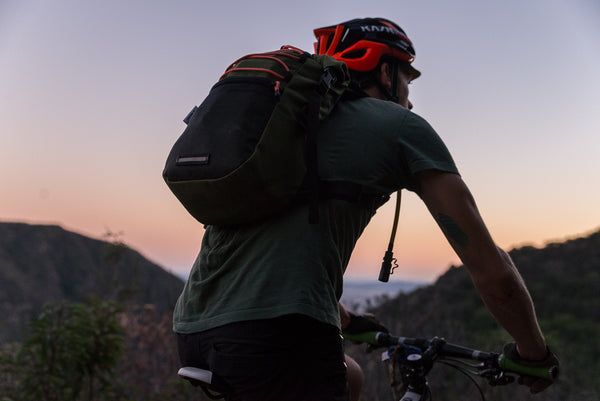 SED Hydration Pack Bladder Back Pack by Road Runner Bags featuring Founder Brad Adams