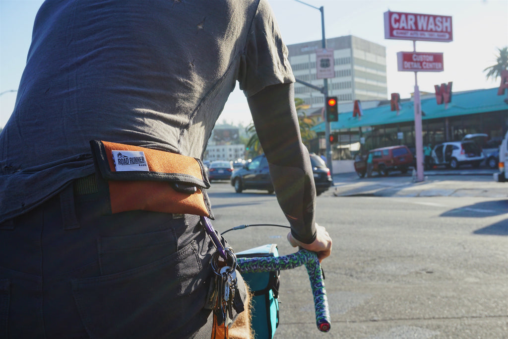 Cycling Wallet - Bicycle Bag by Road Runner Bags
