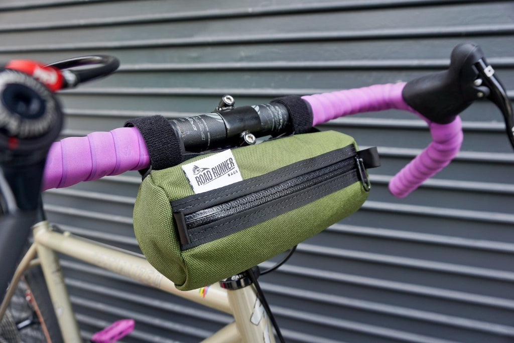Burrito Handlebar Bag - Bicycle Bag by Road Runner Bags