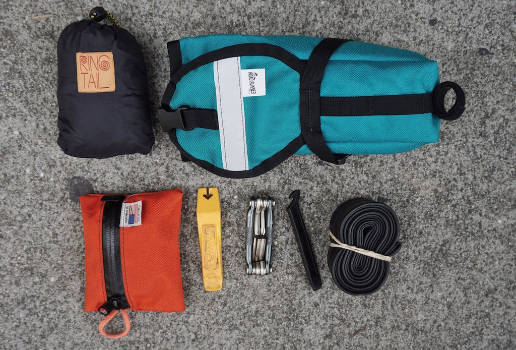 Drafter Saddle Bag for Tubes and Tools