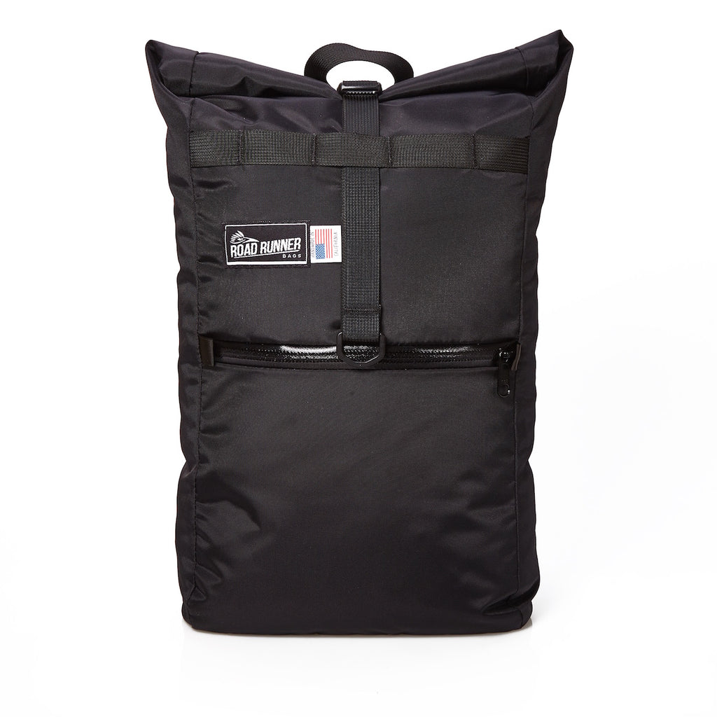 Evil Mini Weatherproof and Packable Backpack in Black Nylon