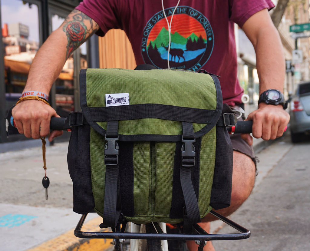 Front Runner Rack Bag - Bicycle Bag by Road Runner Bags