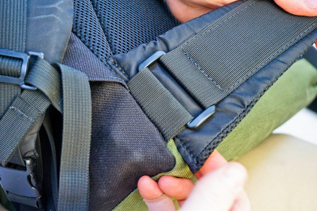 Padded Waist Straps - Bicycle Bag by Road Runner Bags