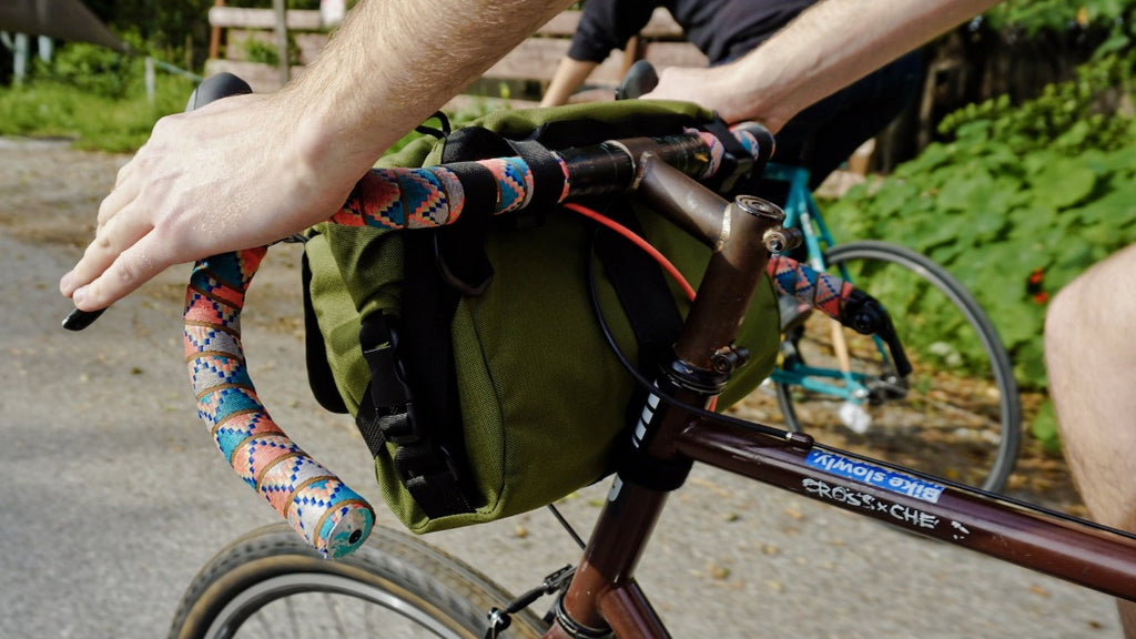 Middle Earth Jammer Handlebar Bag - Bicycle Bag by Road Runner Bags