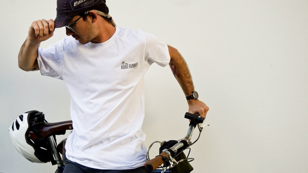 Reflective Short Sleeve T-Shirt - Bicycle Bag by Road Runner Bags