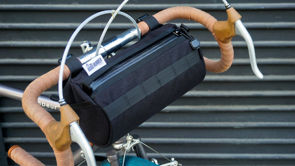 California Burrito Handlebar Bag - Bicycle Bag by Road Runner Bags