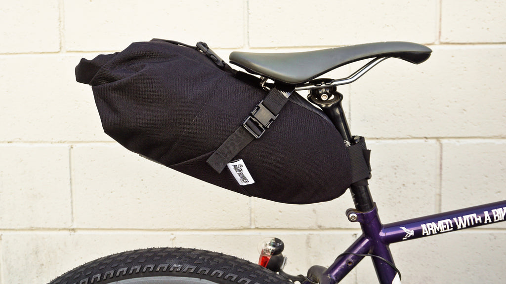 Fred Bikepacking Saddle Bag - Bicycle Bag by Road Runner Bags