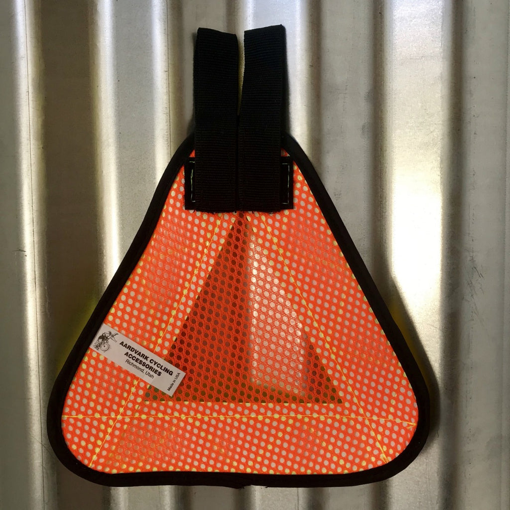 Reflective Safety Triangle - Bicycle Bag by Road Runner Bags