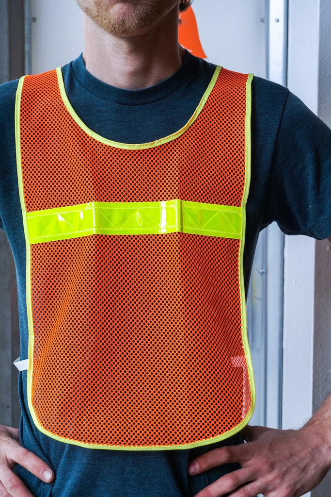 Reflective Cycling Vest - Bicycle Bag by Road Runner Bags