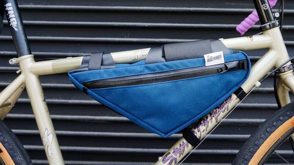 Wedge Half Frame Bag - Bicycle Bag by Road Runner Bags