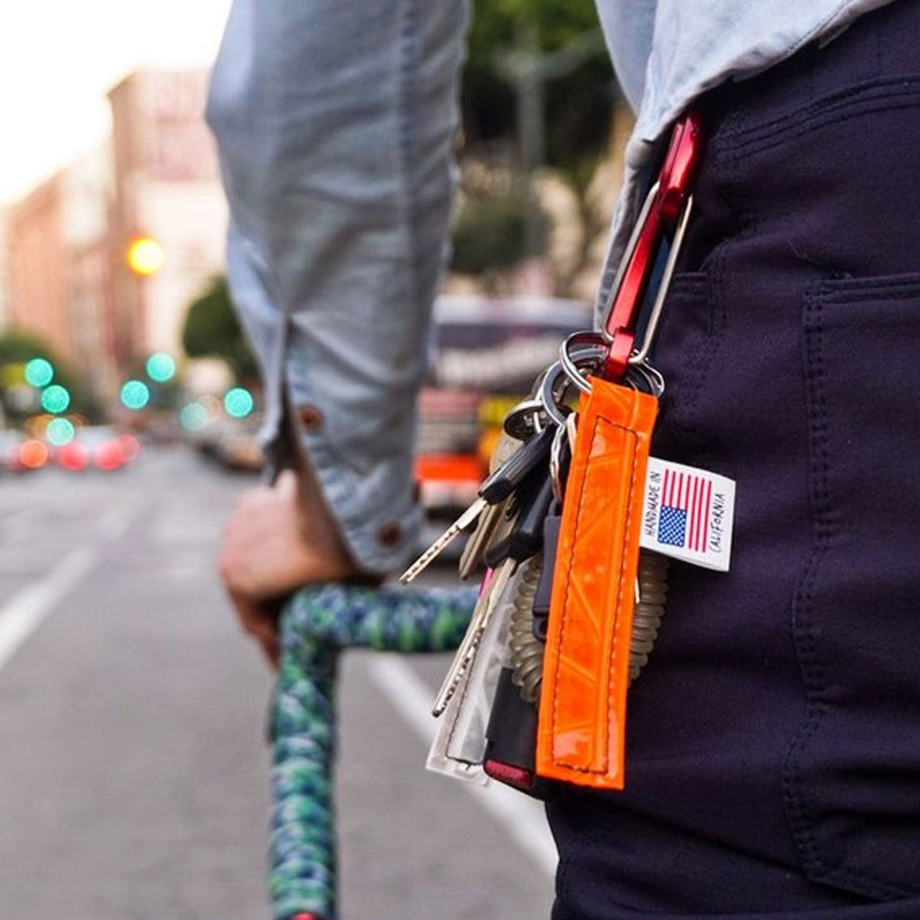 Reflective Keychain - Bicycle Bag by Road Runner Bags