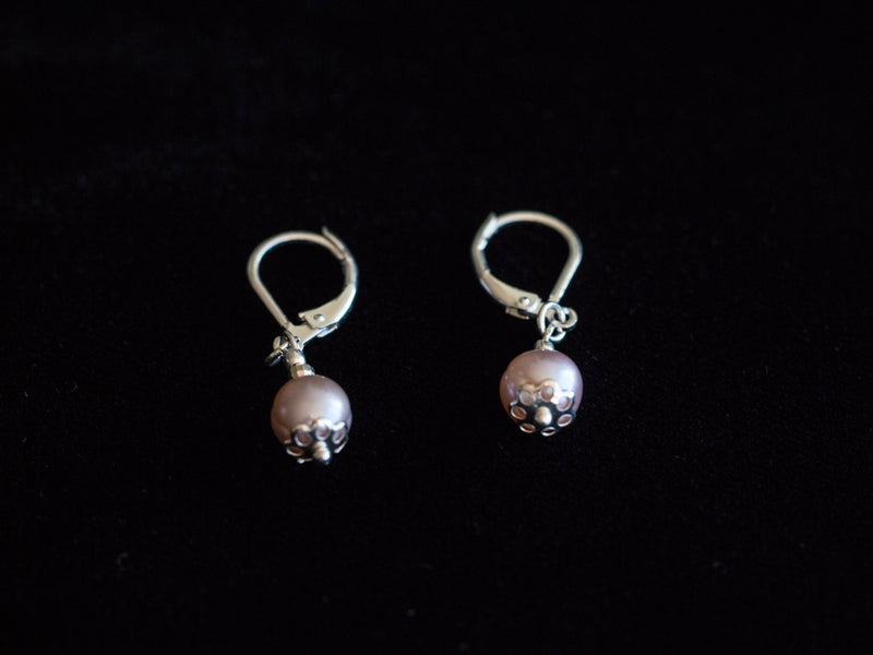 Freshwater Pendent Earrings