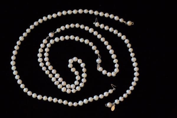 Classic White Convertible Pearls
